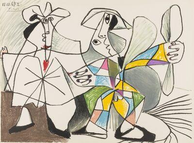 Pablo Picasso, 'Au Baiser D'Avignon', 1972