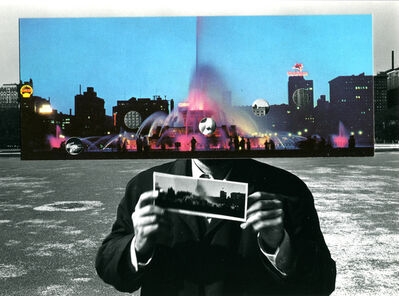 Kenneth Josephson, 'Postcard Visit, Chicago', 1969