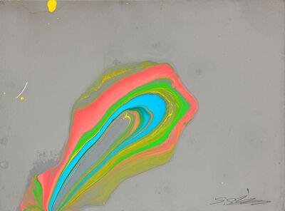 Shozo Shimamoto, 'Middle uzumaki on paper 1', 1965