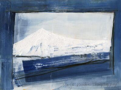 Margot Voorhies Thompson, 'White Mountain, Indigo Night', 2019