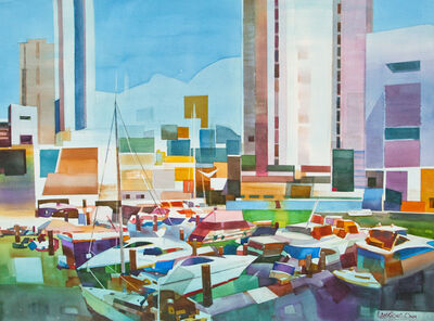 Lam Siong Onn 藍祥安, '#12 Yachts', 2014