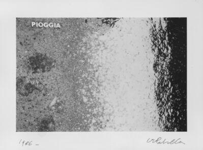 Luca Maria Patella, 'Pioggia', 1966
