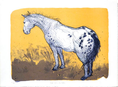 Luis Jimenez, 'Black Jack in the Pasture'