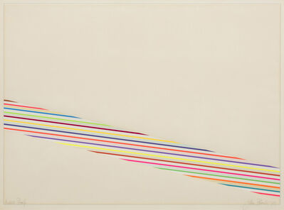 John Plumb, 'Colour Steps C', 1971