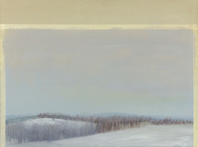 Sylvia Plimack Mangold, 'Gray Winter Glaze', 1981-1982