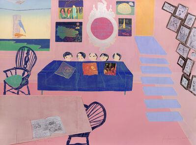 Tom Hammick, 'Living Room', 2017