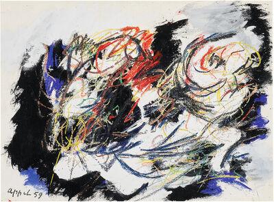 Karel Appel, 'Paysage Humaine', 1959