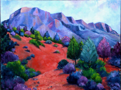 William Kelley, 'Mount Saint-Victoire #2'