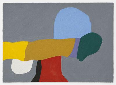 Frederick Hammersley, 'Nip & Tuck', 1986