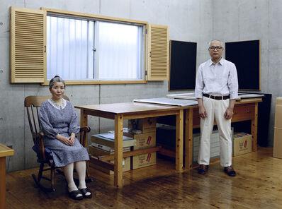 Thomas Struth, 'Kyoko and Tomoharu Murakami, Tokyo 1991', 1991