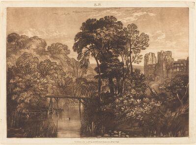 J. M. W. Turner, 'Berry Pomeroy Castle', published 1816
