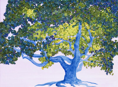 Nancy Wise, 'Kaleidoscope Oak'