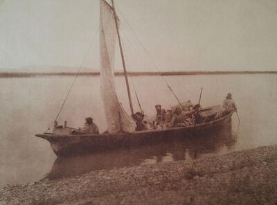 Edward Sheriff Curtis, 'Startug up the Noatak River - Kotzebue, pl. 712', 1928