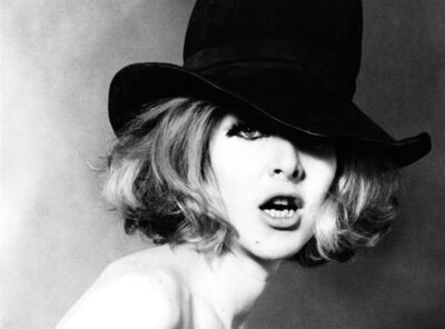Sam Haskins, 'Cowboy Kate Front cover', 1980