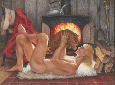 Paul Cadmus, 'Winter #2', 1985