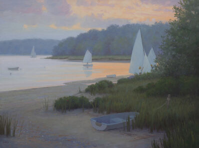 Sam Vokey, 'Sailing Home at Twilight', 2020