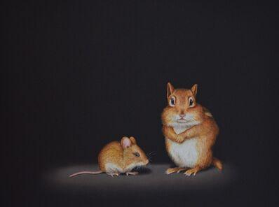 Isabelle du Toit, 'Mouse with Chipmunk', 2020