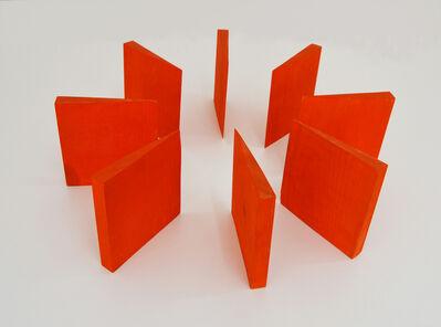 Mathias Goeritz, 'Ocho muros naranjas', 1974