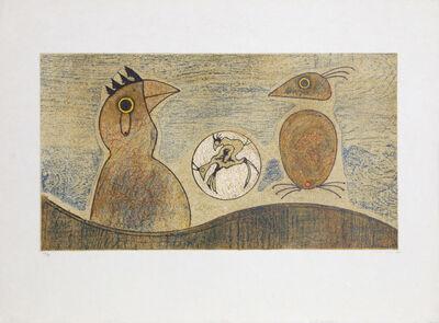 Max Ernst, 'Oiseaux Souterrains', 1975