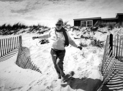 Harry Benson, 'Truman Capote on the Beach', 1984