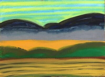 David Hayes, 'Fall Fields', 1993