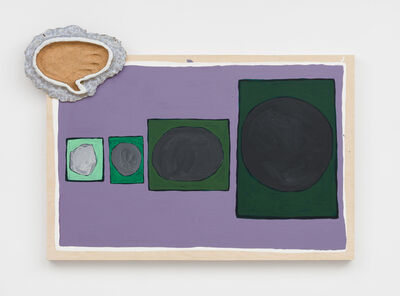 Pam Lins, 'Four Largest Asteriods with Imprint', 2019