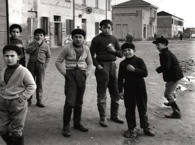 Nino Migliori, 'Gente del Delta', 1958