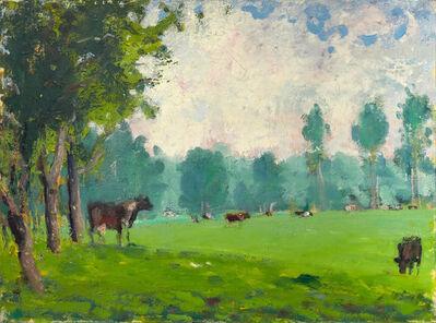 Paul Resika, 'Green Meadow, Skowhegan', 1976