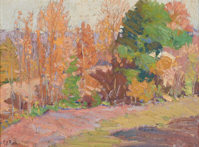 Ernest David Roth, 'Autumn Landscape'