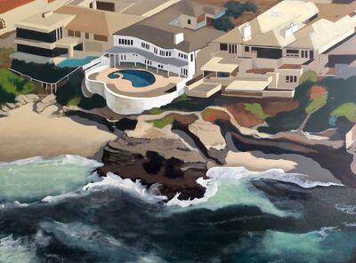 Kate Hooray Osmond, 'Cliff Dwellings, La Jolla', 2015