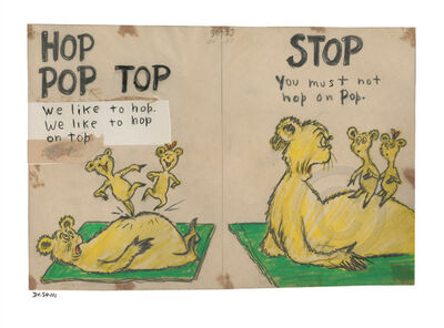 Dr. Seuss, 'Dr. Seuss, Hop Pop Top'