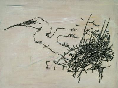 Ye Yongqing 叶永青, 'Draw a Bird', 2011