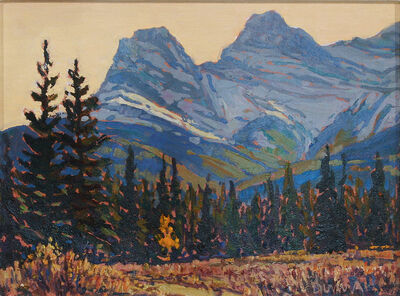 William Duma, 'Near Canmore (16-20)', 2020