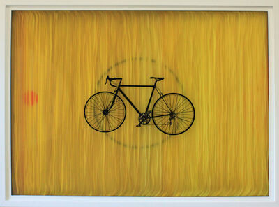 Joan Belmar, 'Yellow Bike #5', 2018