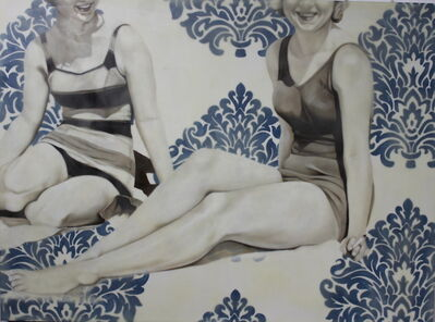 Jhina Alvarado, 'Two At The Beach', 2014