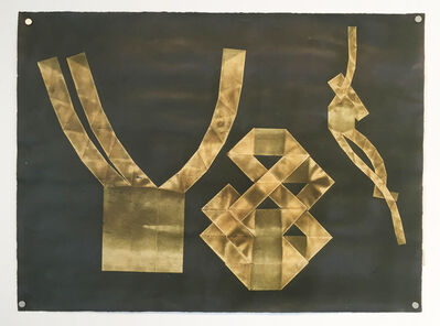 Steve Foust, 'Untitled (Folded Tape Releifs)', 1987