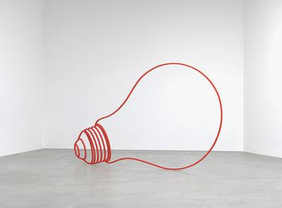 Michael Craig-Martin, 'Bulb (red)', 2011