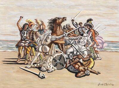 Giorgio de Chirico, 'Combattimento di puritani', 1933 ca.