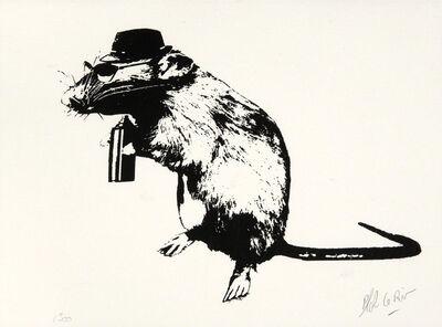 Blek le Rat, 'The Street Artist Paraphernalia', 2016