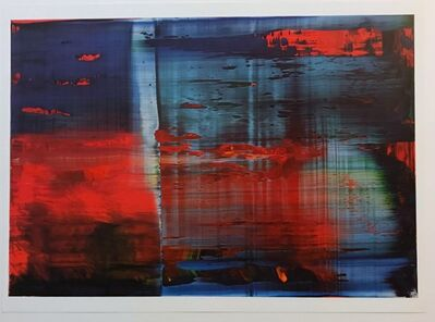 Gerhard Richter, 'Abstract Painting 858-3 (one plate)', 2002