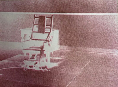 Andy Warhol, 'Electric Chair', 1971