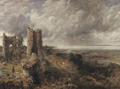 John Constable, 'Hadleigh Castle', 1828 to 1829