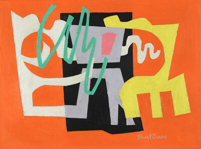 Stuart Davis, 'Feasible', 1949