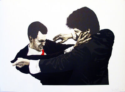Robert Longo, 'Frank & Glenn', 1995