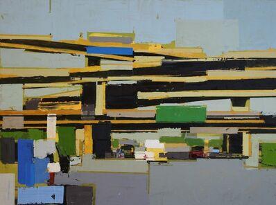 Ryan M. Reynolds, 'Freeway No. 11  /  Oil on panel ', 2019