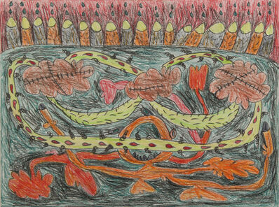 Nasim Hantehzadeh, 'Sketchbook (4)', 2019