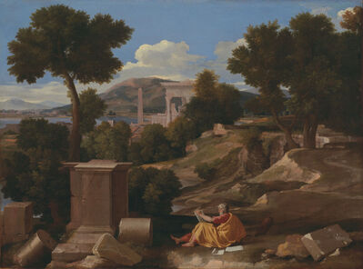 Nicolas Poussin, 'Landscape with Saint John on Patmos', 1650