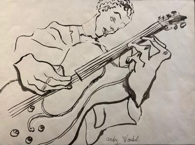 Andy Warhol, 'Kenny Burrell', 1956