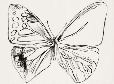 Andy Warhol, 'Vanishing Animals. Butterfly', 1986