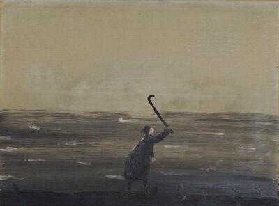 Norbert Schwontkowski, 'Alte Frau am Meer', 2005